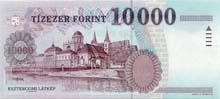 10000 fiorino ungherese retro