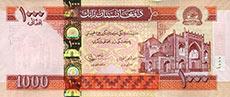 1000 afghani