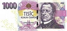 1000 corone ceche