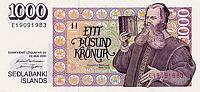 1000 corone islandesi