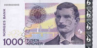 1000 corone norvegesi