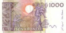 1000 corone svedesi