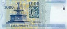 1000 fiorino ungherese retro
