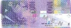 1000 franchi svizzeri