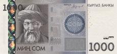 1000 som kirghiso fronte