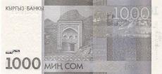 1000 som kirghiso retro