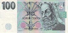 100 corone ceche
