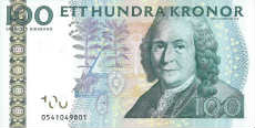 100 corone svedesi