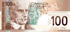 100 dollari canadesi