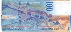 100 franchi svizzeri
