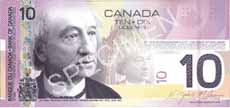 10 dollari canadesi