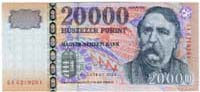 20000 fiorino ungherese fronte