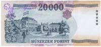 20000 fiorino ungherese retro