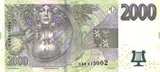 2000 corone ceche