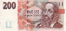 200 corone ceche