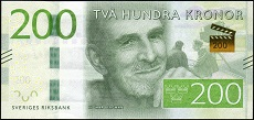 200 corone svedesi