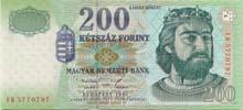 200 fiorino ungherese fronte