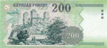 200 fiorino ungherese retro