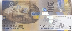 200 franchi svizzeri