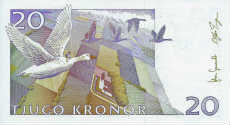 20 corone svedesi