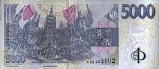 5000 corone ceche