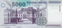 5000 fiorino ungherese retro