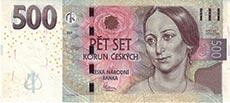 500 corone ceche