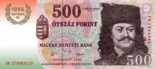 500 fiorino ungherese fronte