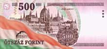 500 fiorino ungherese retro