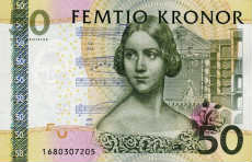 50 corone svedesi